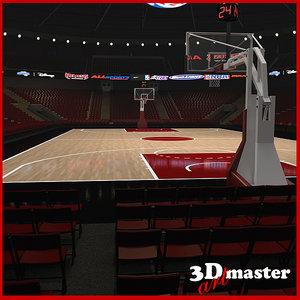 basketball arena model