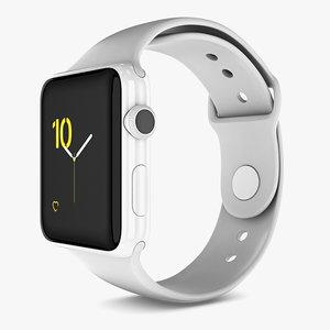 3D apple watch series 2 model