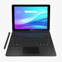 3D samsung galaxy book 10 model
