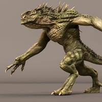 Dino Beast Maya Rig (studio license)