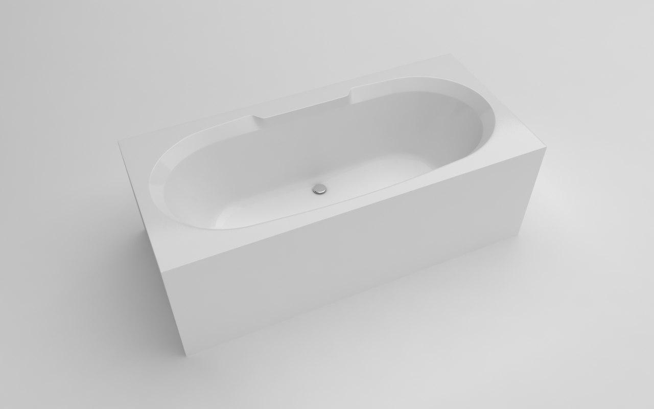 bathtub 150x70x56 5 3D model
