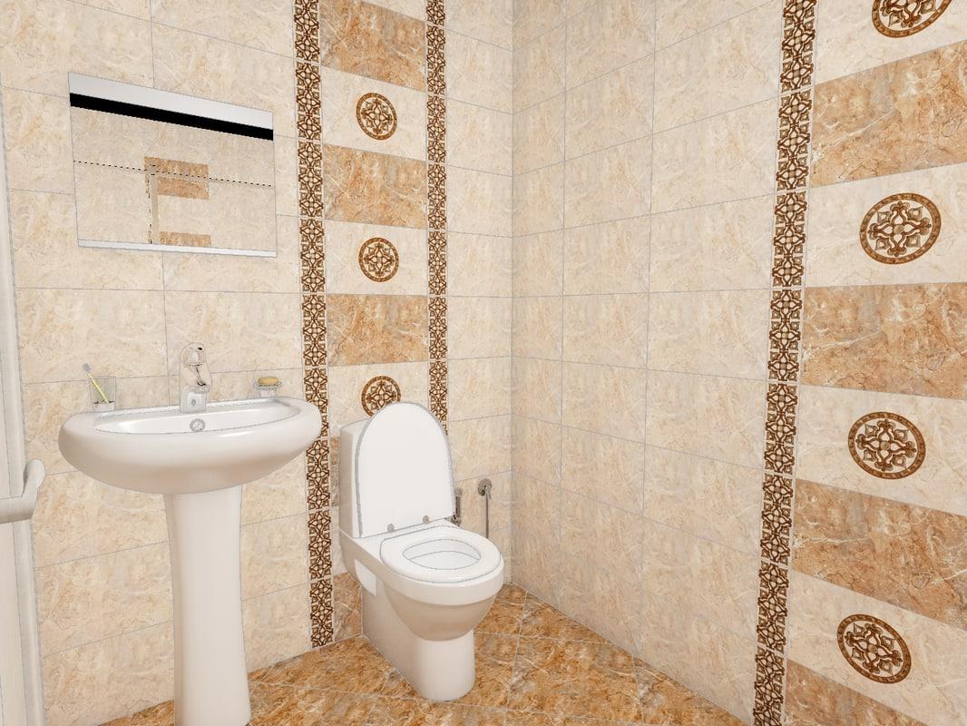 small bathroom model