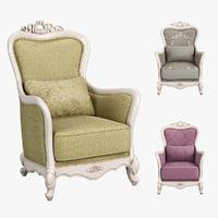 230 carpenter sofa chair 3D model