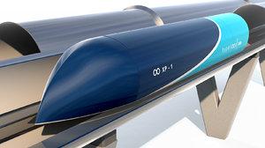 3D elon hyperloop