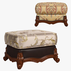 230-1 carpenter sofa foot 3D
