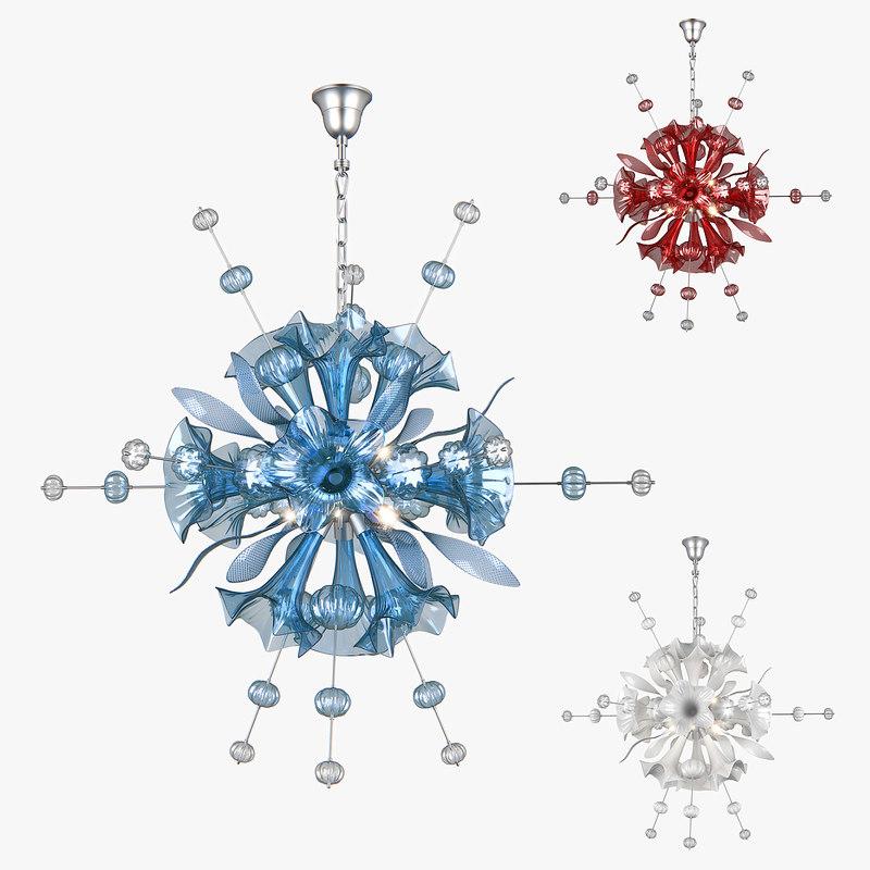 3D chandelier celesta lightstar