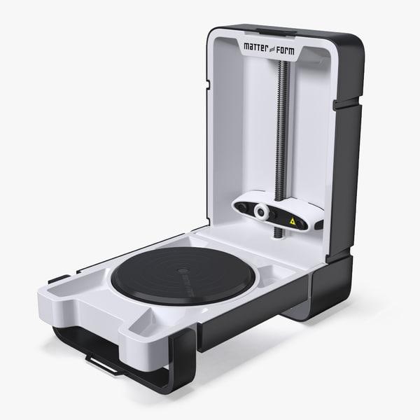 scanner matter form 3D model