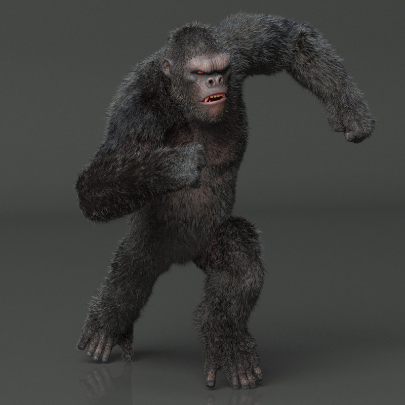 Free 3D model king kong rig - TurboSquid 1182086