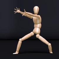 3D mannequin rig