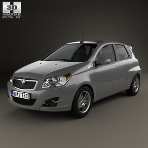 3D model tk 2008 holden