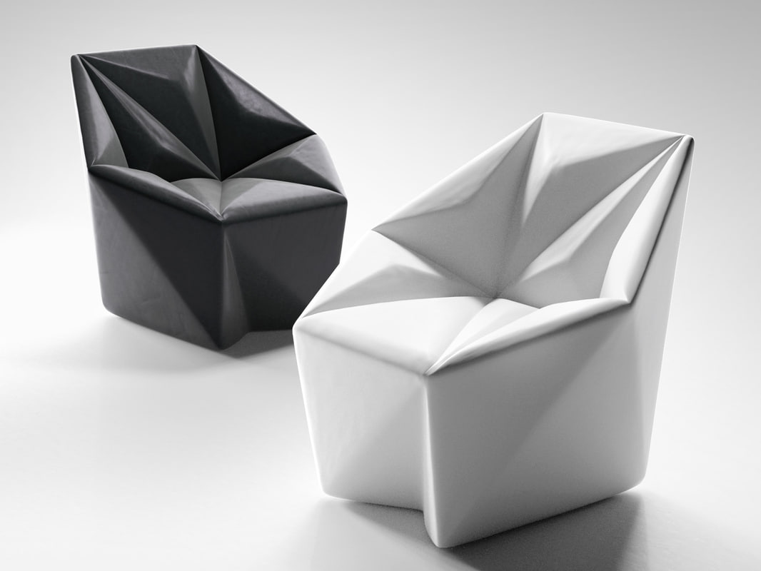 gemma armchair 3D model