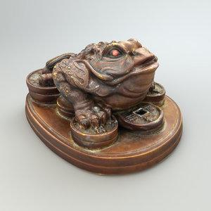 toad statue 3D model