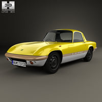 elan sprint fixed-head 3D model