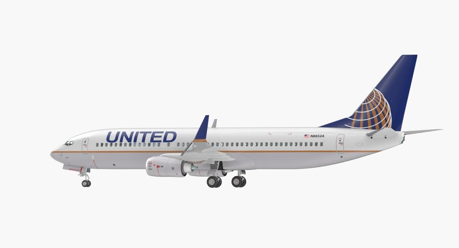 United 737 800 Interior