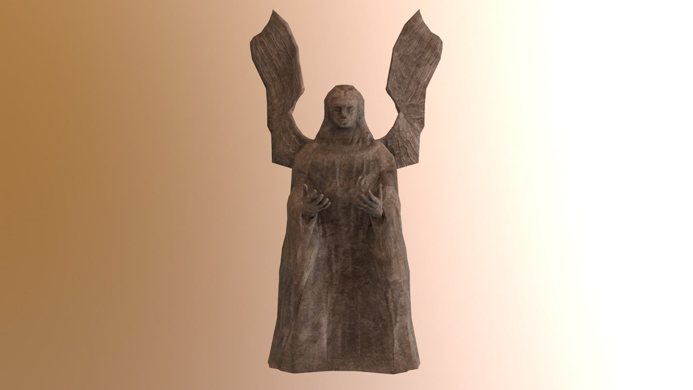 statue angel model