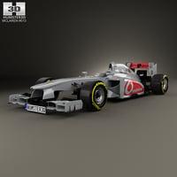 3D model mclaren mp4-28 mp4