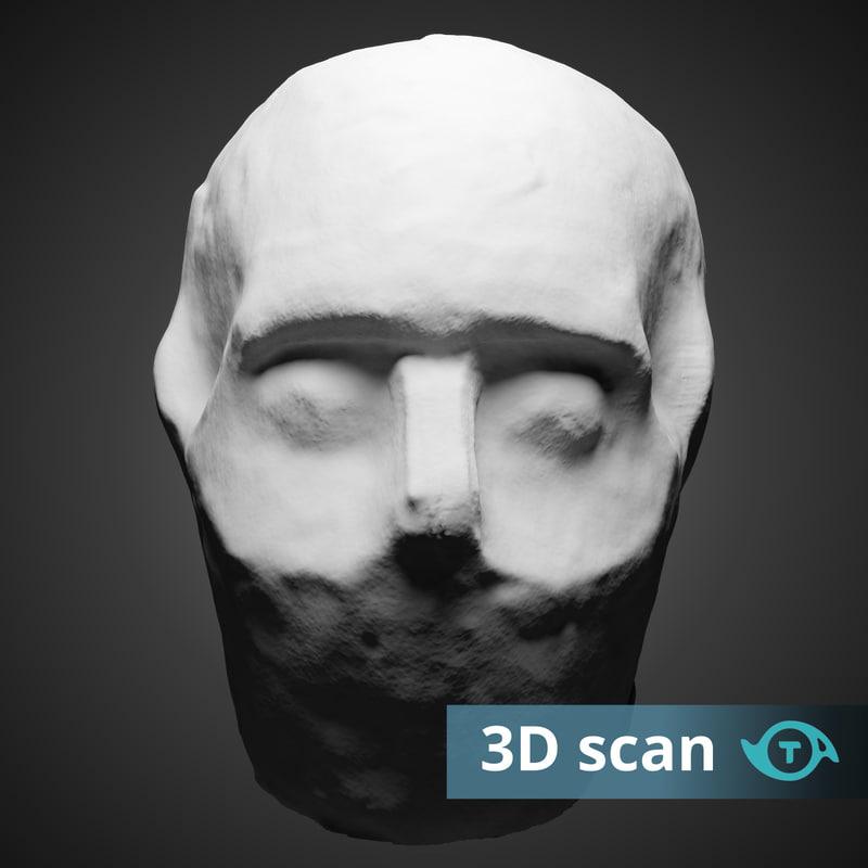 3D statue jericho model