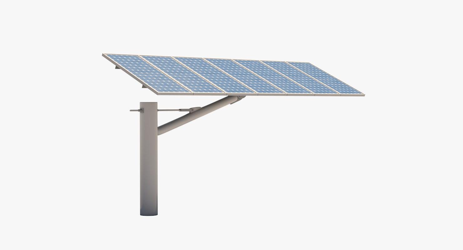 solar car park 3D