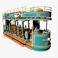 grove trolley 3D
