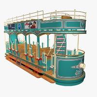 grove trolley 3D