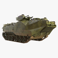 amphibious assault vehicle aavp-7a1 3D
