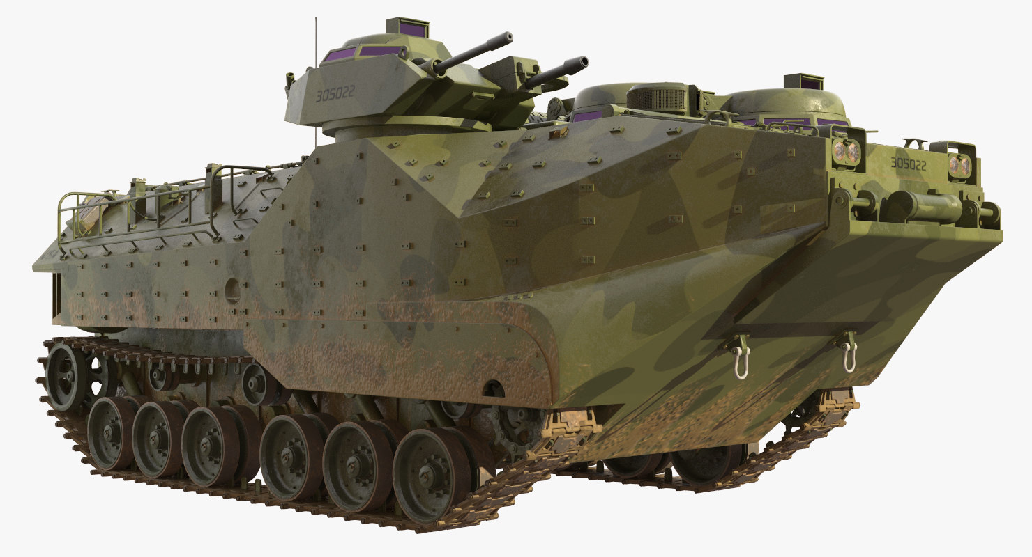 amphibious assault vehicle aavp-7a1 3D
