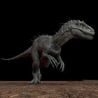 3D indominus rex rig irex