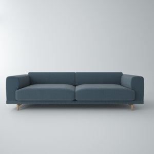 rest sofa muuto 3D model