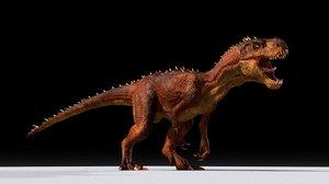 3D diabo rig dinosaur