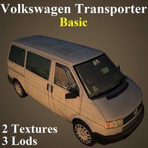 volkswagen basic 3D model