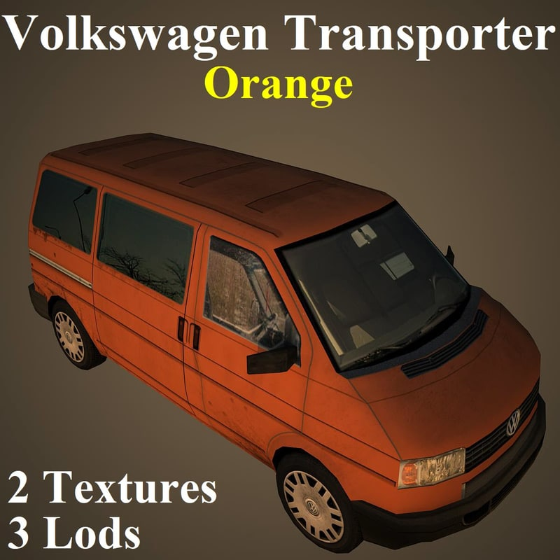 3D volkswagen ora model