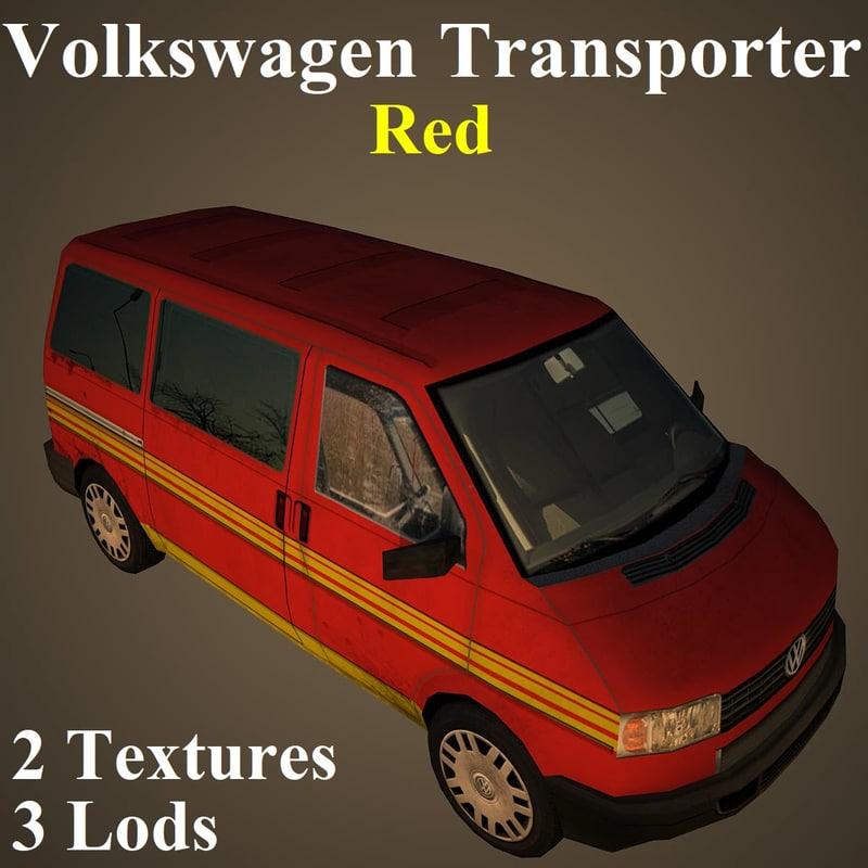 volkswagen red model