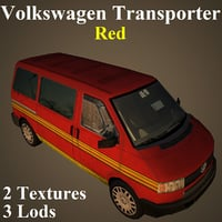 volkswagen red model