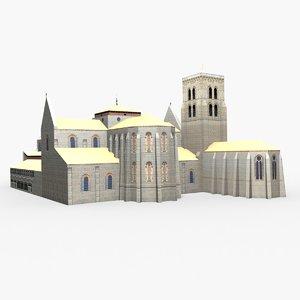 burgos monasterio huelgas lou 3D