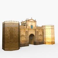 3D model carmona puerta-de-cordoba