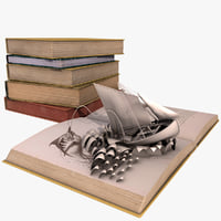 live pop-up book 3D