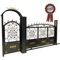 3D iron gate