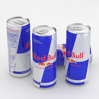 beverage bull drink 3D model