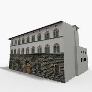 3D palazzo pazzi