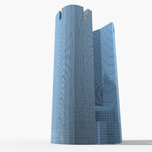 paris societe-generale 3D model