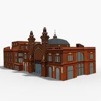 teatro margherita 3D model