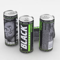 beverage black energy model