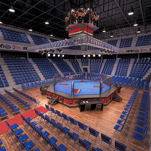 3D arena ufc model