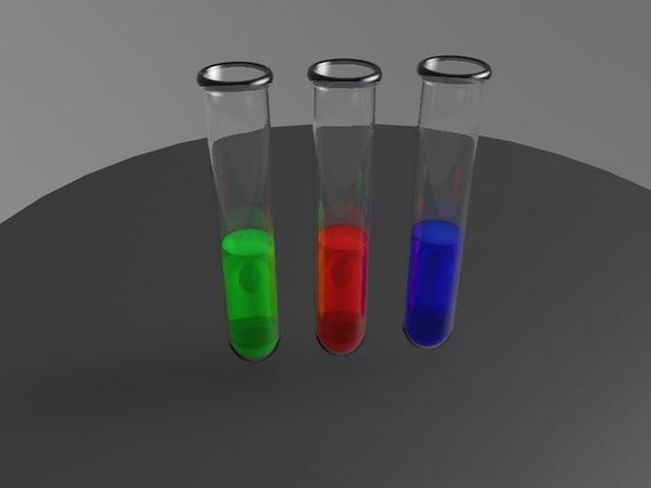 3D test tube