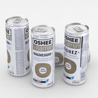 beverage oshee vitamin 3D model