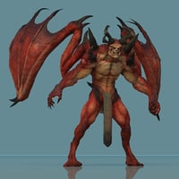 Leo Demon Maya Rig