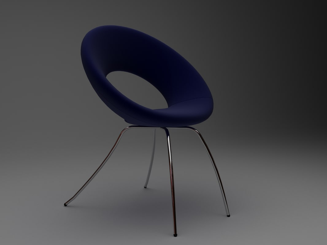 ring chair 3D model