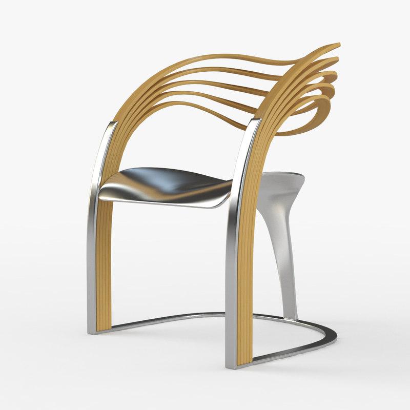 elaxa chair 3D