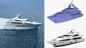 sunseeker 40 yacht 3D