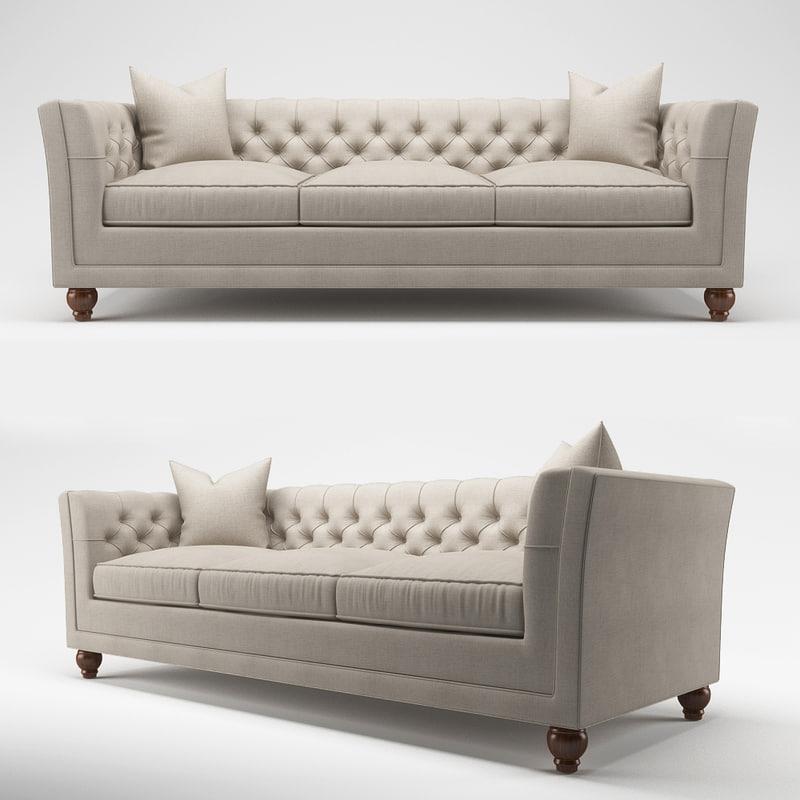 stevens sofa 3D
